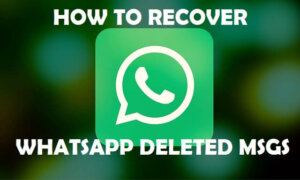 Best App To Recover Deleted Whatsapp Messages on Android