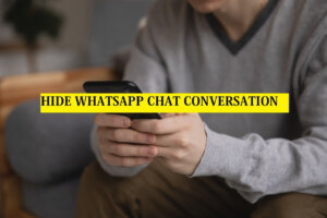 Hide WhatsApp Chat Conversation on Android